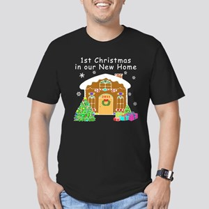 1st Christmas In Our New Home Men's Fitted T-Shirt