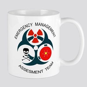 Emergency Management Assessment Team with Text Mug