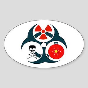Emergency Management Assessment Team Sticker (Oval