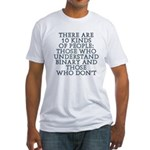 There are 10 kinds Fitted T-Shirt