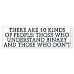 There are 10 kinds Sticker (Bumper 50 pk)