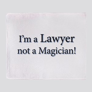 Lawyer Throw Blanket