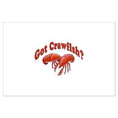 Got Crawfish Posters