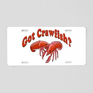 Got Crawfish Aluminum License Plate