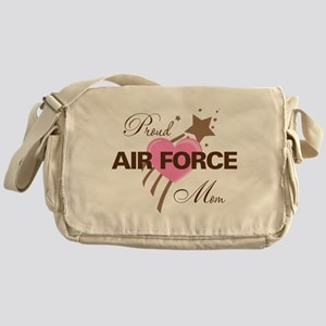 Proud Air Force Mom Messenger Bag