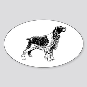 Springer Spaniel Sticker (Oval)