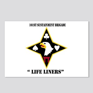 """DUI - 101st Sustainment Brigade """"Life Liners"""" with"""