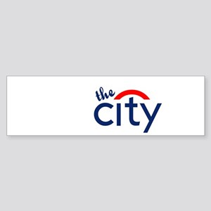 The City Bumper Sticker