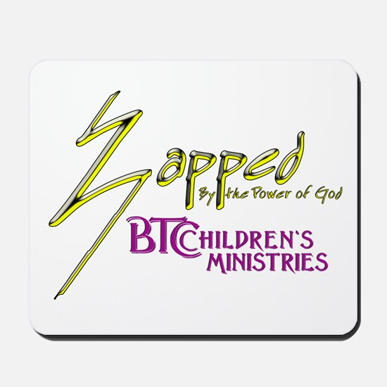 Zapped Logo Mousepad