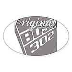 Original Boss 302 Sticker (Oval 50 pk)