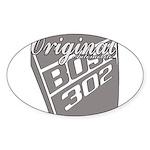 Original Boss 302 Sticker (Oval 10 pk)