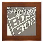 Original Boss 302 Framed Tile