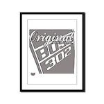 Original Boss 302 Framed Panel Print