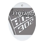 Original Boss 302 Ornament (Oval)