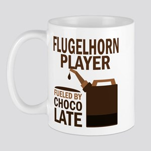 Flugelhorn Player Powered By Donuts Mug