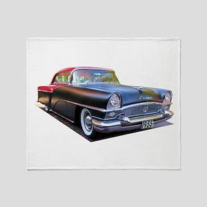 1955 Packard Clipper Throw Blanket