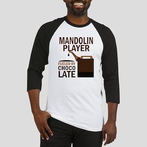 Mandolin Player Powered By Donuts Baseball Jersey