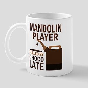 Mandolin Player Powered By Donuts Mug
