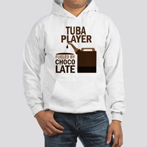 Tuba Player Powered By Donuts Hooded Sweatshirt