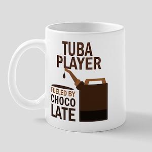 Tuba Player Powered By Donuts Mug