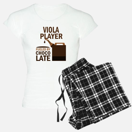 Viola Player Powered By Donuts Pajamas