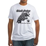 Skull Guitar Fitted T-Shirt