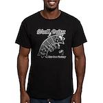 Skull Guitar Men's Fitted T-Shirt (dark)