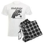 Skull Guitar Men's Light Pajamas