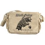Skull Guitar Messenger Bag