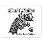 Skull Guitar Small Poster