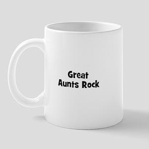 Great Aunts Rock Mug