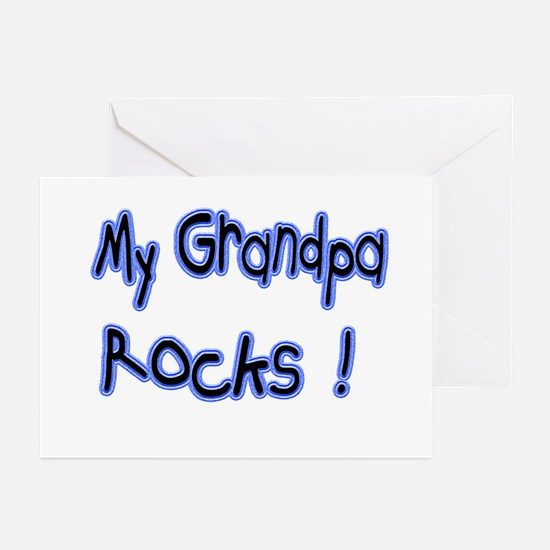 My Grandpa Rocks ! Greeting Cards (Pk of 10)