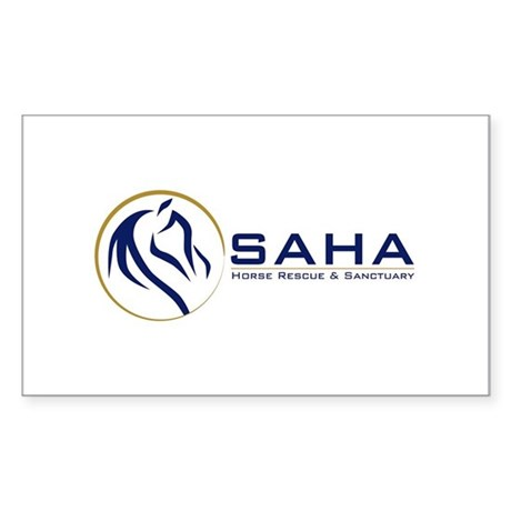 Save A Horse Australia Logo Sticker (Rectangle)