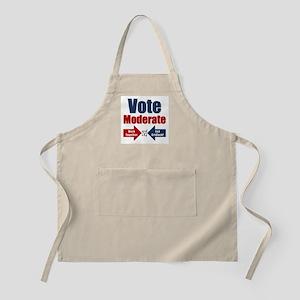 Vote Moderate Apron