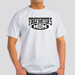 Firefighter's Mom Ash Grey T-Shirt