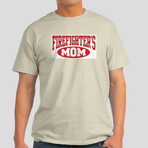 Firefighter's Mom Ash Grey T-Shirt