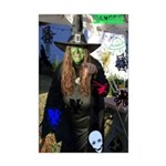 Halloween Witch Mini Poster Print