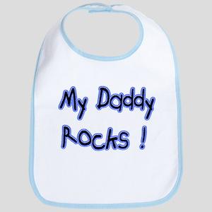 My Daddy Rocks ! Bib