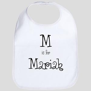M Is For Mariah Bib