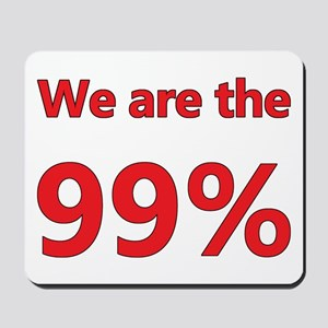 We are the 99% Mousepad