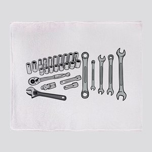 Wrenches Throw Blanket