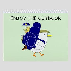 Enjoy The Outdoor Wall Calendar