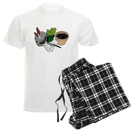 Gardening Men's Light Pajamas