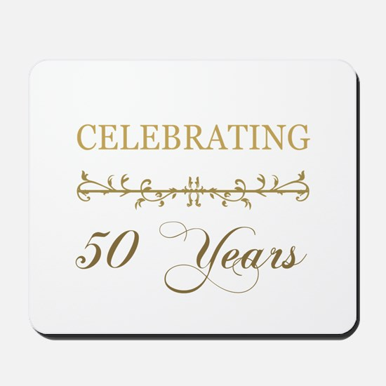 Celebrating 50 Years Mousepad