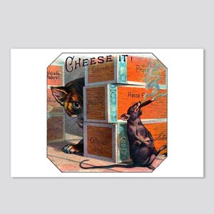 Cheese It Rat Cigar Label Postcards (Package of 8)
