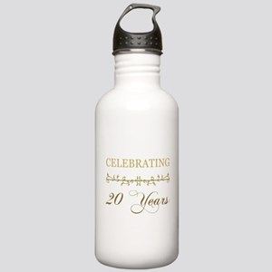 Celebrating 20 Years Stainless Water Bottle 1.0L