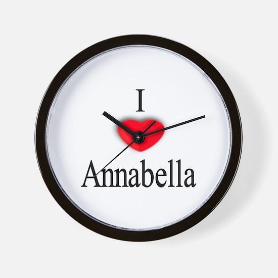 Annabella Wall Clock