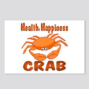 Crab Happiness Postcards (Package of 8)