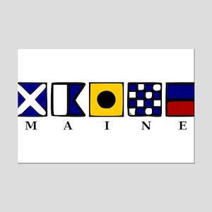 Maine Mini Poster Print