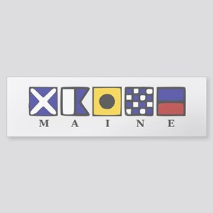 Maine Sticker (Bumper)